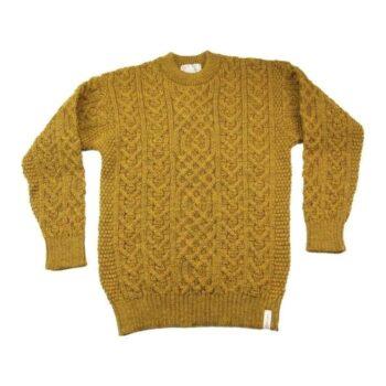 Traditional Aran Sweater Harvest