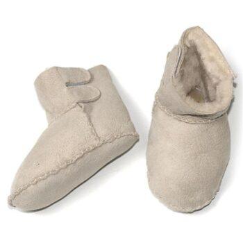 Babies Sheepskin Velcro Booties