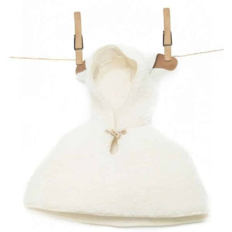 Baby Cape with Sheep Ears