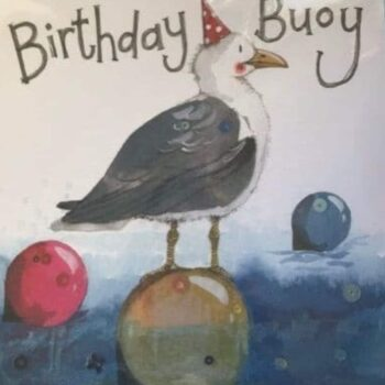 Birthday Buoy - Male Birthday Card