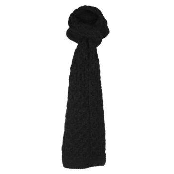 Charcoal Scarf, 100% British Wool
