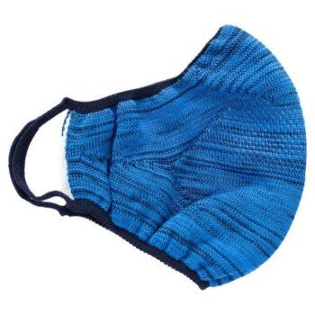 Diolen Hygienic Seamless Face Cover - Azure Blue