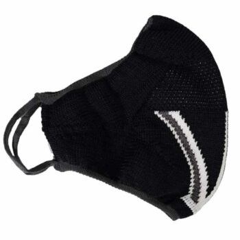 Diolen Hygienic Seamless Face Cover - Black Jack