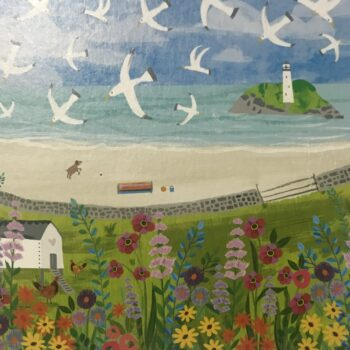 Godrevy Lighthouse, St. Ives Bay. Any occasion card