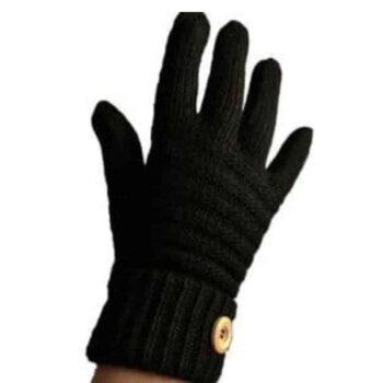 Joya Wool Blend Gloves - Black