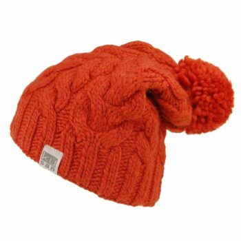 Kusan Floppy Bobble 100% wool. Burnt Orange
