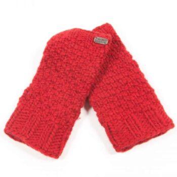 Kusan Red Hand Warmer 100% New Zealand Wool