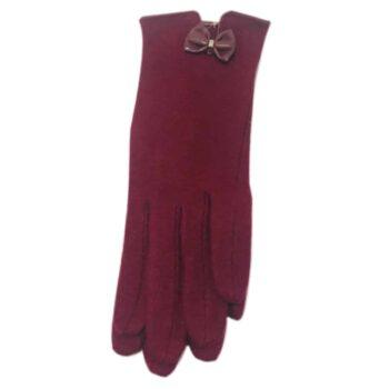 Occasion Gloves - Dark Red
