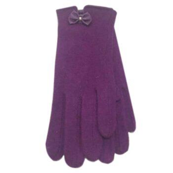 Occasion Gloves - Deep Violet