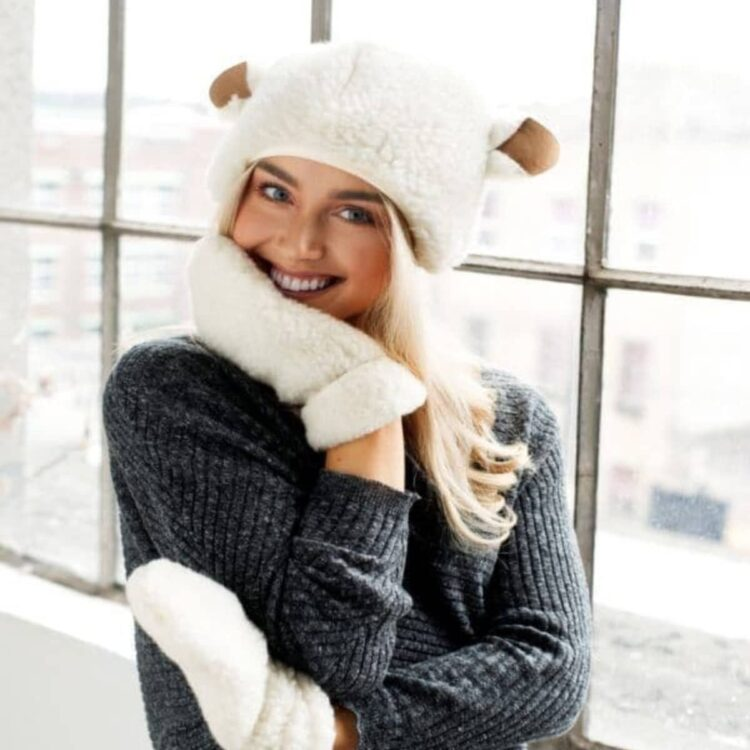 Sheep Hat with Ears