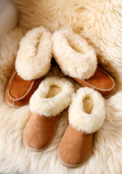 Sheepskin Bootie Luxury Slipper Boots