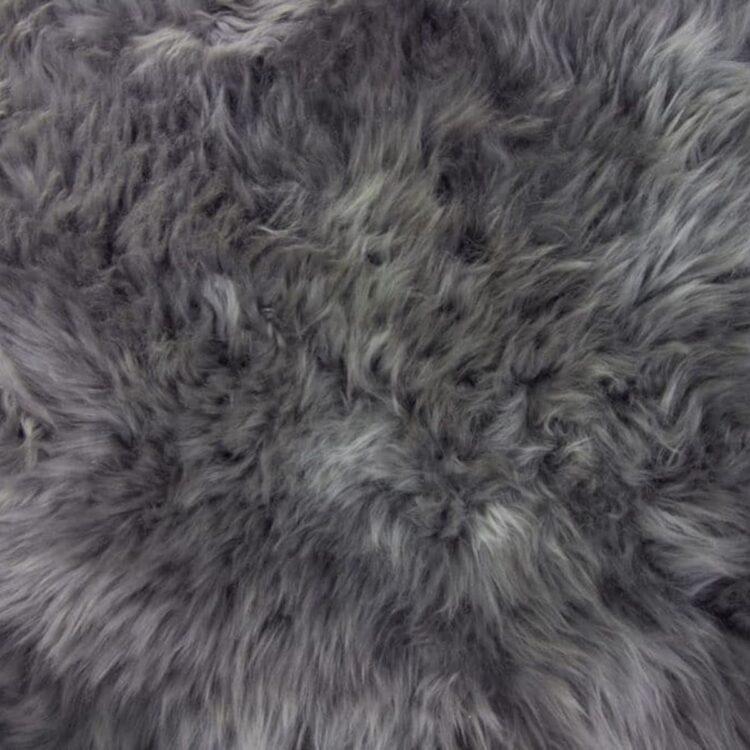 Sheepskin Rug - Dark Grey