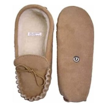 Unisex Suede Moccasin - Soft Sole