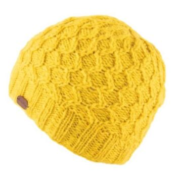 Wave Cable Brooklyn Beanie - Sunshine Yellow