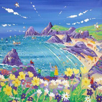 Wild Flowers & Sunshine - Kynance Cove