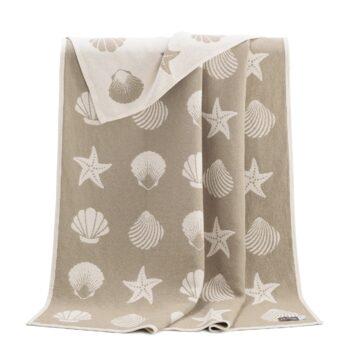 Seashells Cotton Blanket
