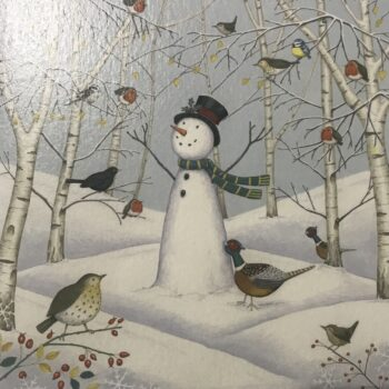 Snowman and his friends