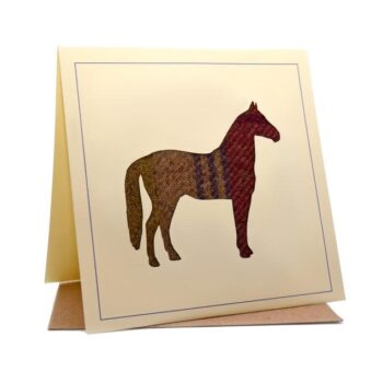 Tweed Horse Card